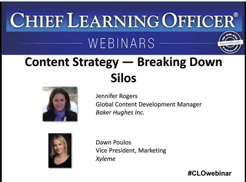 Baker Hughes Content Strategy — Breaking Down Silos