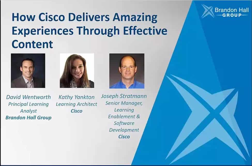 How Cisco Delivers Amazing Learning Experiences through Content - Xyleme