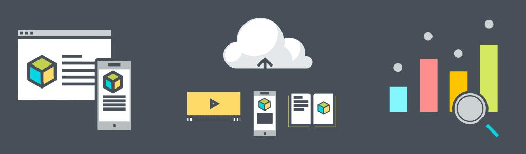 Xyleme-author-publish-deliver-analyze-colorful-icons